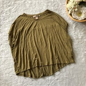 Forever 21 Green Soft Tee